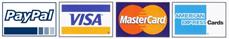 PayPal / MasterCard / Visa / American Express