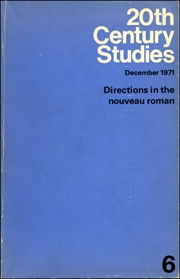 20th Century Studies : Directions in the Nouveau Roman