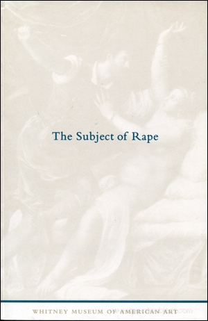 The Subject of Rape