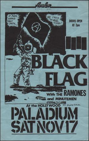 [Black Flag With The Ramones and Minutemen at the Hollywood Paladium [If Punx Would Unite... / We Could Do (A)ny Thing!] / Sat. Nov. 17 1984] [Blue]