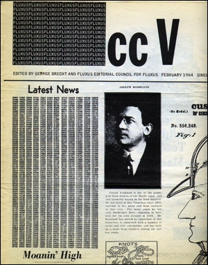 cc V TRE : Fluxus Newspaper