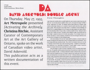 David Askevold : Double Agent