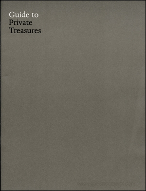 Guide to Private Treasures