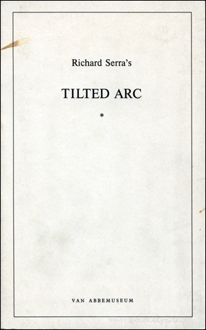 Richard Serra's Tilted Arc