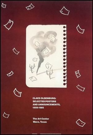 Poster : Claes Oldenburg : Selected Posters and Announcements, 1959-1985