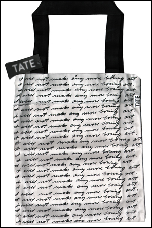I Will Not Make Any More Boring Art Tote Bag