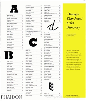 Younger Than Jesus : Artist Directory
