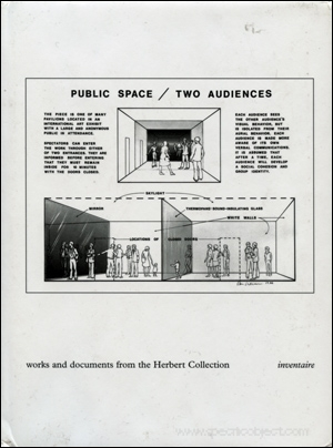 Public Space / Two Audiences : Works and Documents from the Herbert Collection