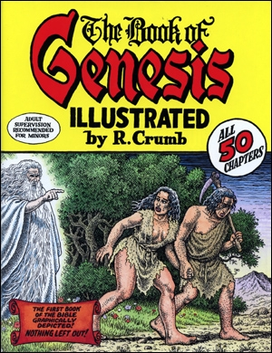 The Book of Genesis Illustrated by R. Crumb