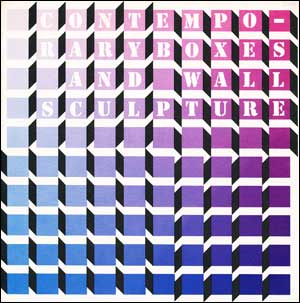 Contemporary Boxes and Wall Sculpture