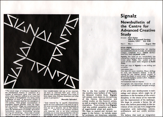 Signals Magazine : August 1964 - March 1966