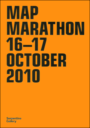 Map Marathon : 16 - 17 October 2010 / CRASH! Propose : A Better Britain
