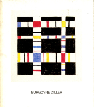 Burgoyne Diller : Paintings, Sculpture, Collages, Drawings, 1938 to 1964