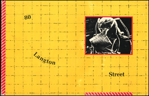 80 Langton Street Documentation : Catalog for Presentations from May 1981 through April 1982