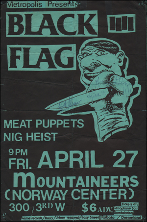 [Black Flag at Mountaineers / Fri. April 27]