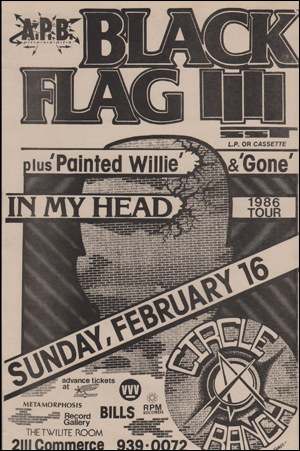 [Black Flag at the Twilite Room [In My Head] / Sunday, February 16]