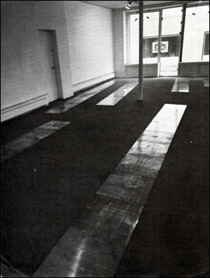 Carl Andre : Copper Prime Couples