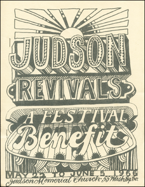 Judson Revivals : A Festival Benefit