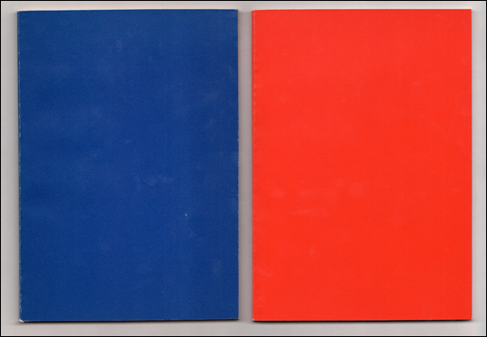 Untitled, Red / Blue