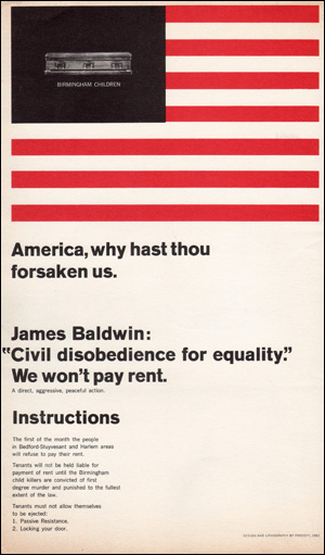America, why hast thou forsaken us. James Baldwin: