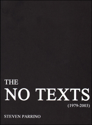 The No Text (1979 - 2003)