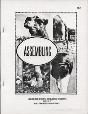 Assembling : A Collection of Otherwise Unpublishable Manuscript