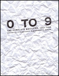 0 TO 9 : The Complete Magazine : 1967 - 1969