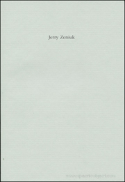 Jerry Zeniuk : Watercolors 1991 - 1992