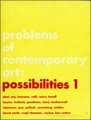 Problems of Contemporary Art : Possibilities 1
