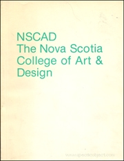 NSCAD : The Nova Scotia College of Art & Design : Prints and Books