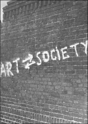 Art into Society - Society into Art : Seven German Artists