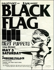 [Black Flag at Perkins Palace / Saturday May 5]