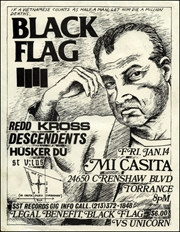 [Black Flag Legal Benefit at Mi Casita / Fri. Jan. 14 1983]