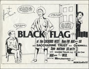 [Black Flag at the Cuckoos Nest/ Wed. Aug. 26 1981]