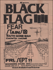 [Black Flag at Devonshire Downs [You Are Neccesary TAN] / Fri. Sep. 11 1981]