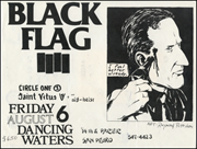 [Black Flag at Dancing Waters / Fri. Aug. 6 1982]
