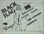 [Black Flag at Galaxy / New Years Eve Dec. 31 1982]