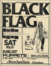 [Black Flag at Madison Square Garden / Sat. May 14 1983]
