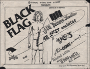 [Black Flag at La Paloma Theater / Jul. 3 [1983]]