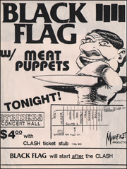 [Black Flag at Striders Hall / Aug. [5, 6, 8?] 1983]