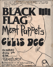 [Black Flag at Eagle's Nest / Sun. Aug. 7 1983]