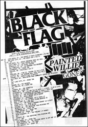 [Black Flag [In My head / Guerrilla Gone Tour Schedule] / May 16 - Jul. 6 1986]