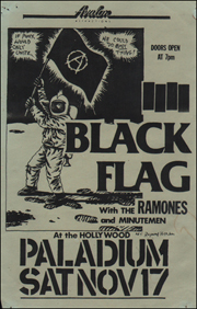 [Black Flag With The Ramones and Minutemen at the Hollywood Paladium [If Punx Would Unite... / We Could Do (A)ny Thing!] / Sat. Nov. 17 1984] [Green]