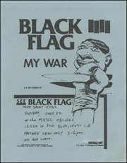 [Black Flag at the Music Machine / Sun. Jul. 22 1984]