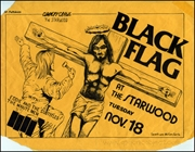 [Black Flag at the Starwood / Tuesday Nov. 18] [Christ /
