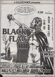 [Black Flag [rescheduled] at the Ukranian Hall [Full Size] / Dec. 10 1982 / I Love You, Mom]