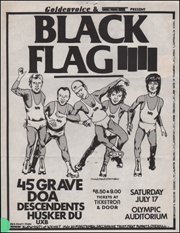[Black Flag at the Olympic Auditorium / Sat. Jul. 17 1982] [White]