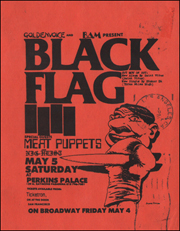 [Black Flag at Perkins Palace / Sat. May 5 1984][Small]