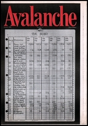 Avalanche Newspaper