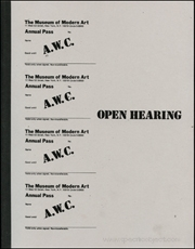 AWC : Open Hearing / Documents 1
